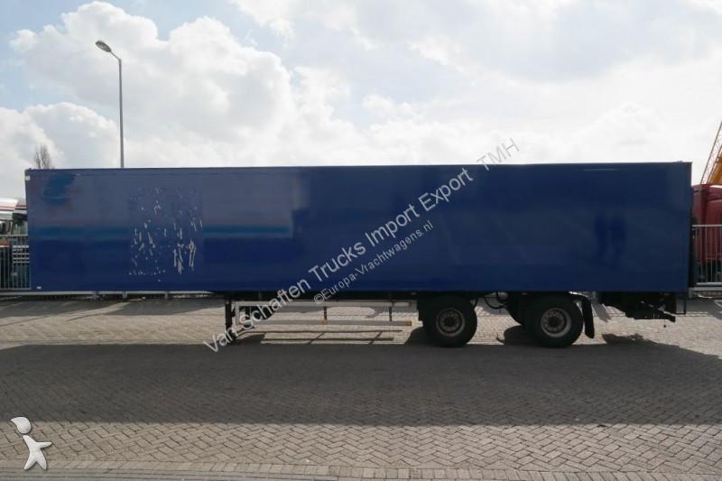 Draco FRIGO TRAILER WITH CARRIER MAXIMA 1000 semi-trailer