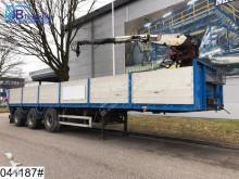 semirremolque Pacton open laadbak 47000 KG, Kennis 11000 crane, Rotator, Borden