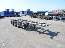 полуприцеп Groenewegen 20FT/30FT, ADR (EXII, EXIII, FL, AT, OX), BPW, ALCOA, Liftaxle, galvanised