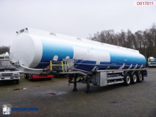 trailer LAG Fuel tank alu 42.8 m3 / 6 comp + pump