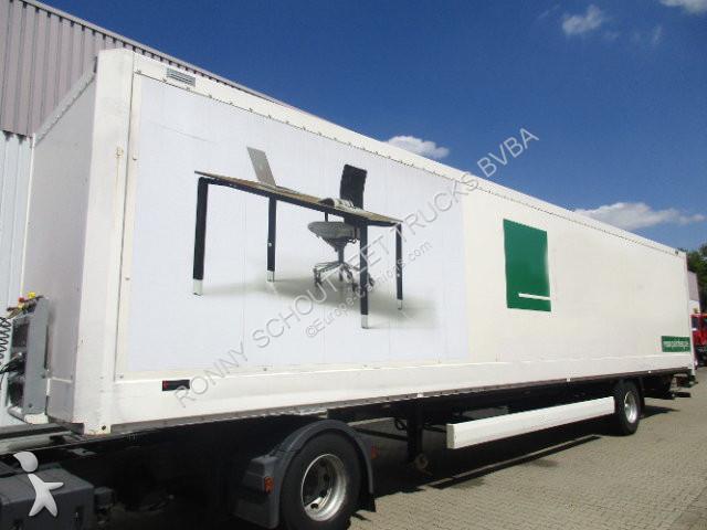 Krone SEK SEK Koffer mit Ladebordwand semi-trailer