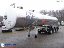 trailer Maisonneuve Chemical tank inox 31.5 m3 / 1 comp