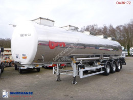 BSLT Chemical tank inox 33 m3 / 1 comp semi-trailer