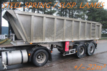 semirremolque General Trailers BENNE / TIPPER +/- 22m³ - SUSP. LAMES - STEEL SPRING - GOOD CONDITION