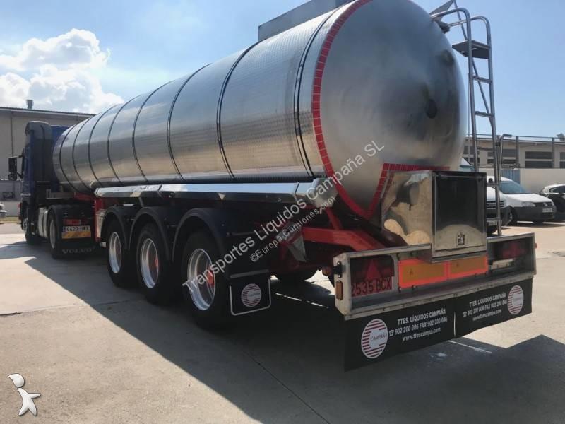 Cisternas la Mancha  semi-trailer