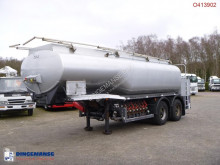 n/a Fuel tank alu 19 m3 / 6 comp + steering axles semi-trailer