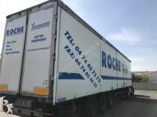 semirimorchio furgone con parete pieghevole Bizien
