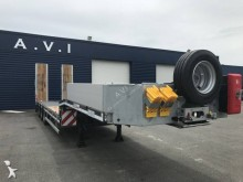 MAX Trailer MAX100 extensible table hydrau heavy equipment transport