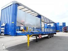 Krone als nieuw: breedtetrailer, ramp, schijfremmen, compleet gedocumenteerd, NL oplegger semi-trailer