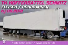 Schmitz Cargobull SKO 24/ FLEISCH ROHRBAHN 5+1 CARRIER VECTOR 1550 Auflieger