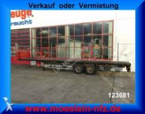 Schmitz Cargobull 2 Achs Plattform Auflieger mit Steckrungen Auflieger