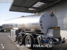 Magyar Milk Milch 27.000 Ltr Lenkachse 33HAZSP semi-trailer