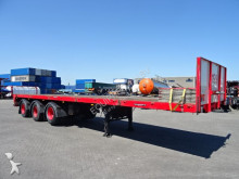 Floor heavy duty platform, 2 steering axles, 1 liftaxle, all working properly!, twin air, BPW, alu dropsides, good tyres semi-trailer