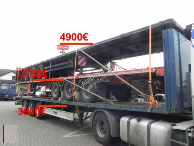 K.A. Pritschenauflieger TX34CW4FAK1A Auflieger Genera Auflieger