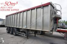 Benalu +/- 50M³ VOLUME KIPPER - ALU / ALU - ABS - GOOD CONDITION semi-trailer
