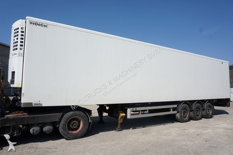 Van Hool VéDéCar BOX + Thermoking SL200e - FULL CHASSIS / DISC BRAKES - MB AXLES - 2m60 x 2m49 semi-trailer