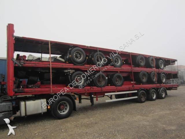 Krone plataforma mega semi-trailer