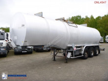 trailer Fruehauf Bitumen / heavy oil tank steel 31 m3 / 1 comp
