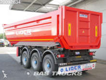 Lider 27m3 Liftachse GERMAN DOCS semi-trailer