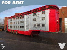 semirremolque Finkl 3 stock livestock trailer FOR RENT