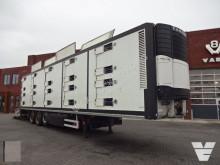Berdex 4 Stock Livestock Dwars geventileerd semi-trailer