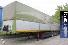 Schwarzmüller semirimorchio centinato acqua regolabile sponde usato semi-trailer