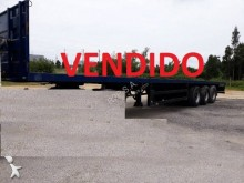 Lecitrailer container semi-trailer
