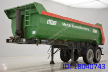 Meusburger 27 Cub in Steel semi-trailer