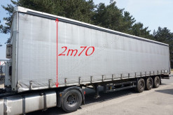 semi remorque Schmitz Cargobull S3ZED - DISC BRAKES - ANTI THEFT CURTAINS - 2m70 INSIDE HEIGHT - NICE CONDITION