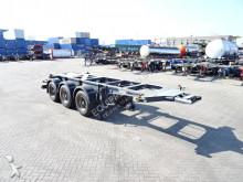 Burg ADR, leeggewicht: 3.490kg, BPW, schijfremmen, NL-trailer semi-trailer
