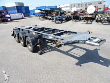 Burg 20FT, ADR, empty weight: 3.490KG, BPW+disc, Dutch trailer semi-trailer