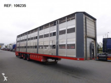 Fliegl - WITH VANBORG 3-AXLE ANIMAL TRANSPORT semi-trailer