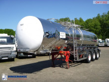 n/a Food tank inox 30 m3 / 1 comp + pump semi-trailer