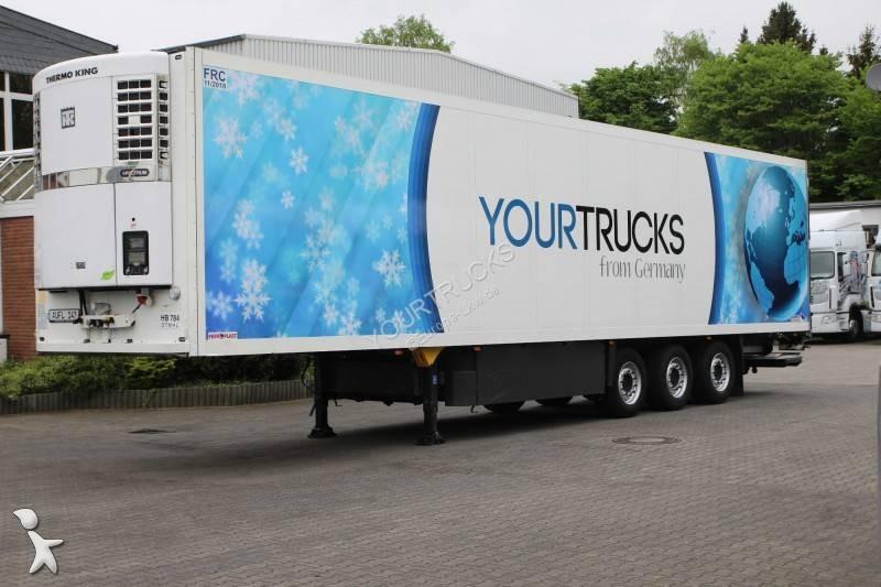 Schmitz Cargobull Schmitz Cargobull Thermo King Spectrum, Doble Piso, Plataforma, FRC semi-trailer