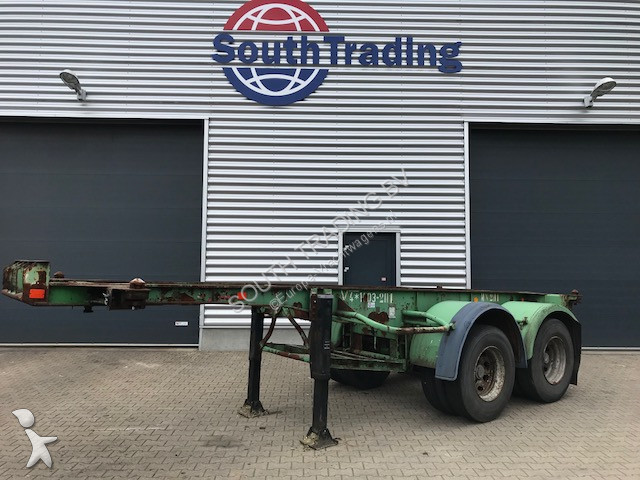 Fruehauf 20 FT Steel semi-trailer