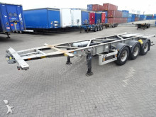 Van Hool galvanised ADR 20/30FT, BPW, Alcoa wheels, 3.740KG semi-trailer
