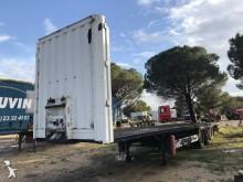 Krone flatbed semi-trailer