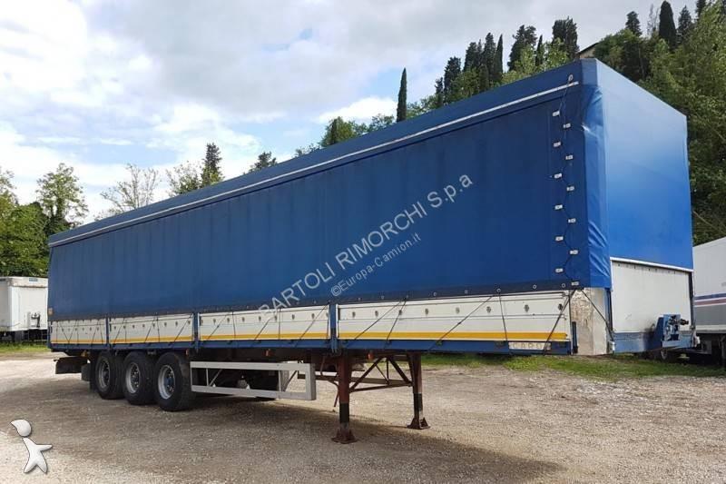 Cardi Semirimorchio, Centinato Sponde, 3 assi, 13.60 m semi-trailer