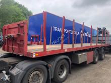 trailer platte bak Broshuis