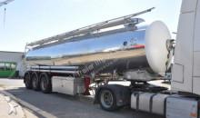 gebrauchter Auflieger Tankfahrzeug Lebensmittel