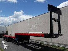 Fruehauf gas carrier flatbed semi-trailer