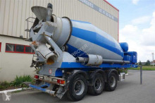 used concrete mixer concrete semi-trailer