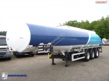 semi remorque Caldal Heavy oil tank alu 37.7 m3 / 1 comp + pump