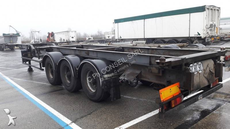 Semiremorca Trouillet PORTE CONTAINER 20/40 CHASSIS COULISSANT