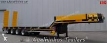 Scorpion heavy equipment transport semi-trailer