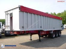 semi remorque Wilcox Tipper trailer alu 54 m3 + tarpaulin