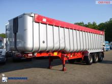 Fruehauf Tipper trailer alu 52 m3 + tarpaulin semi-trailer