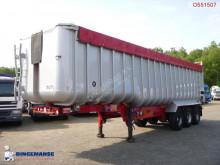 semi remorque Fruehauf Tipper trailer alu 52 m3 + tarpaulin