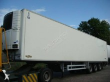 used Chereau multi temperature refrigerated semi-trailer Carrier SEMI FRIGORIFIQUE - 33 PALETTES + HAYON 3 axles rear hatch - n°2771781 - Picture 1