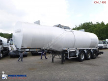 semi remorque Fruehauf Bitumen tank inox 31 m3 / 1 comp
